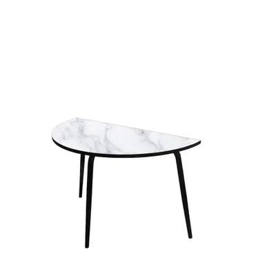 table demi lune la redoute