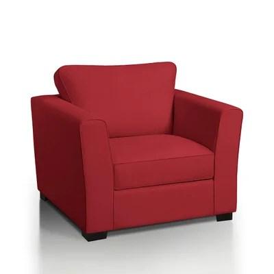 fauteuil rouge la redoute