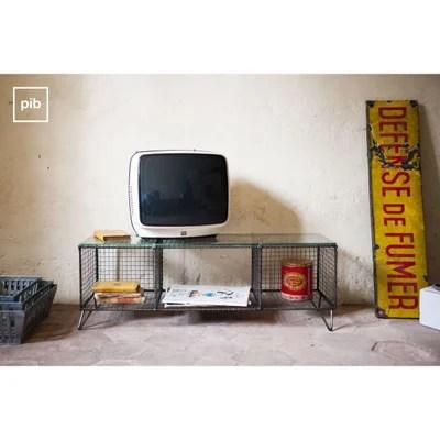 meuble tv plexiglas la redoute