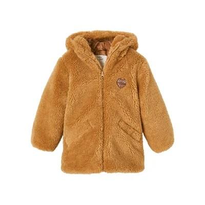 manteau peluche la redoute