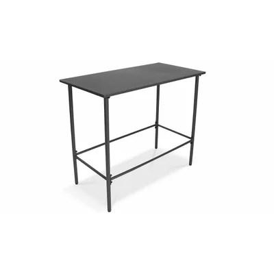 table haute acier la redoute