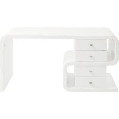 bureau blanc la redoute
