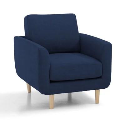 fauteuil scandinave couleur la redoute