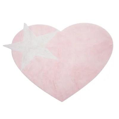 tapis etoile rose la redoute