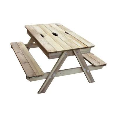 table pique nique enfant la redoute