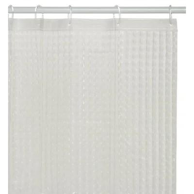 rideau de douche transparent la redoute