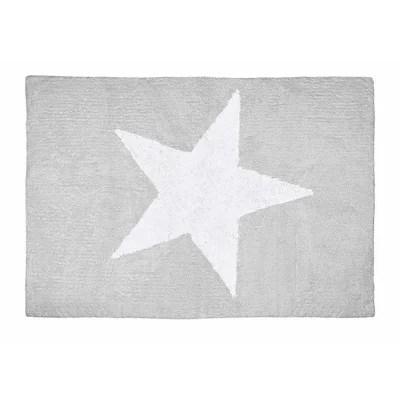 tapis etoile gris la redoute