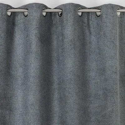 rideau gris chine la redoute