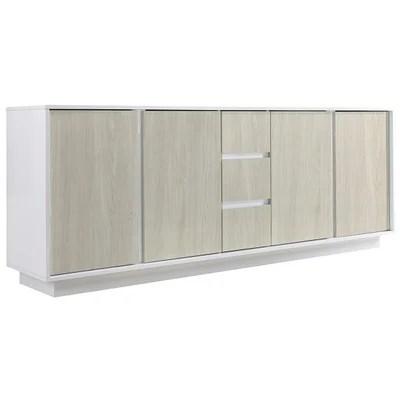 meubles blanc laque design la redoute