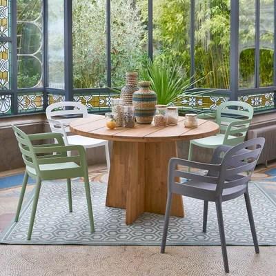 table de jardin octogonale la redoute
