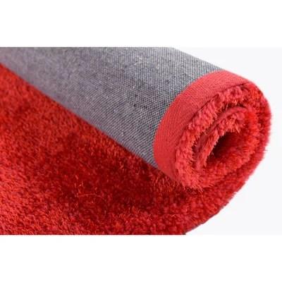 tapis rouge et noir la redoute