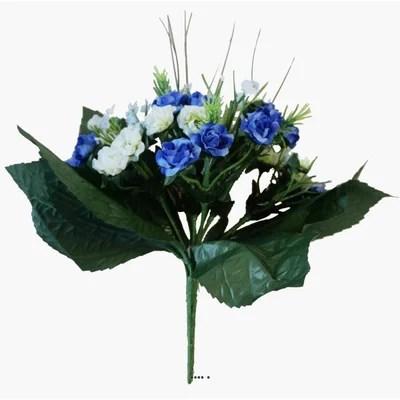 bouquet de fleurs bleues la redoute