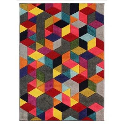 tapis colore la redoute