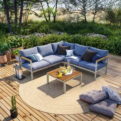 salon de jardin design luxe la redoute