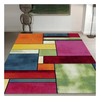 tapis moderne multicolore la redoute