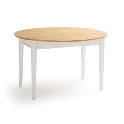table blanche extensible la redoute