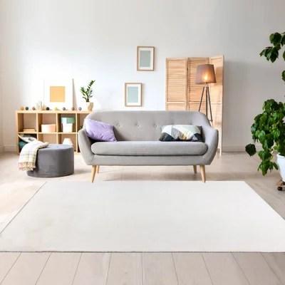 tapis moderne noir et blanc la redoute
