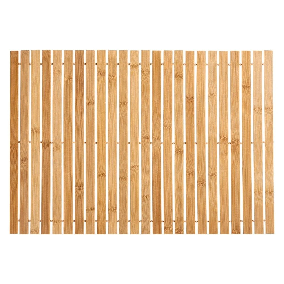 tapis de bain bambou la redoute