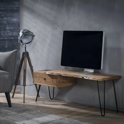 meuble tv 120 cm la redoute