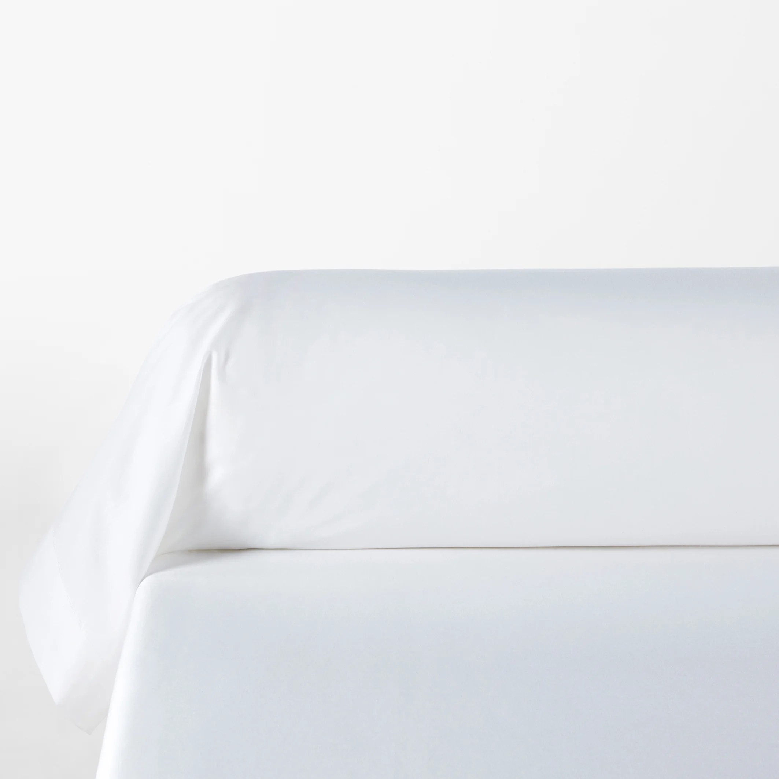 lyo plain bolster pillowcase in cotton lyocell
