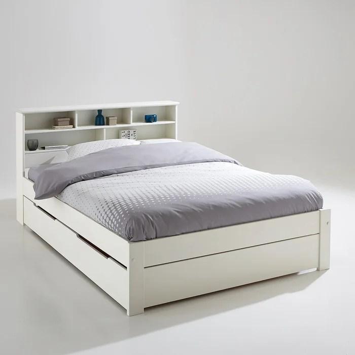 ensemble lit tete de lit et sommier nikko