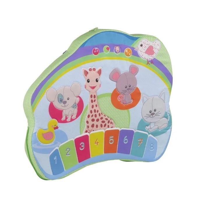 mon tableau d eveil interactif sophie la girafe touch et play board