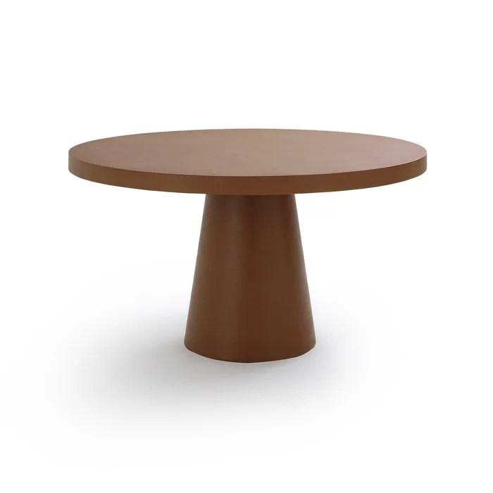 table de jardin ronde argine