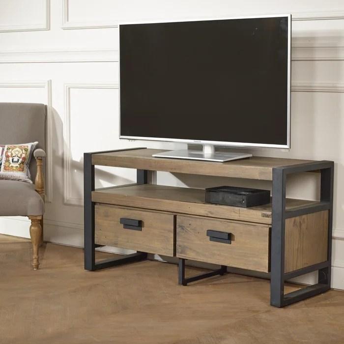 meuble tv industriel 110 cm jack