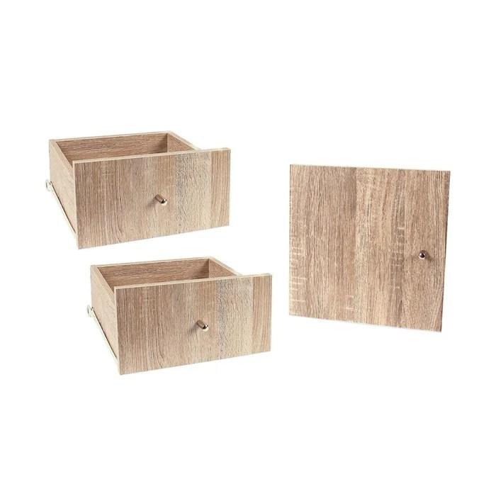lot de 2 tiroirs 1 porte pour meuble a case