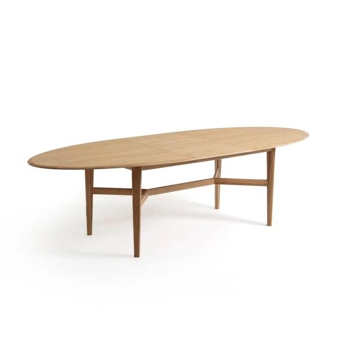 table a allonges chene massif tadame