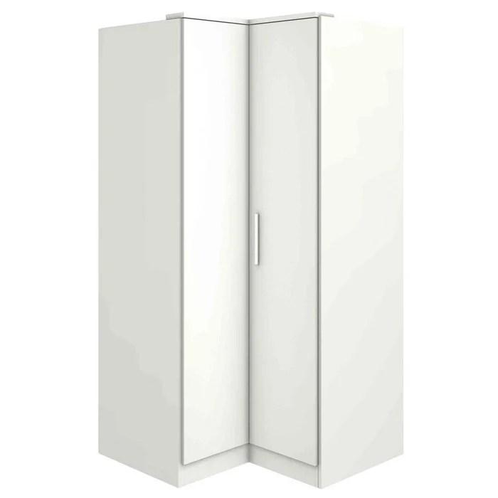 armoire d angle 2 portes en bois ar9003