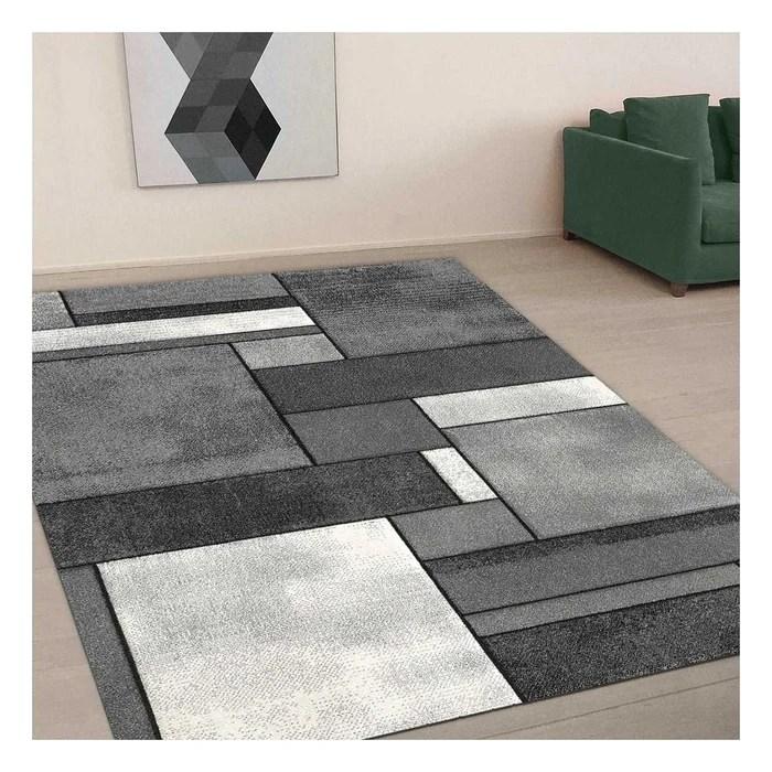 tapis design et moderne brillance geometrique