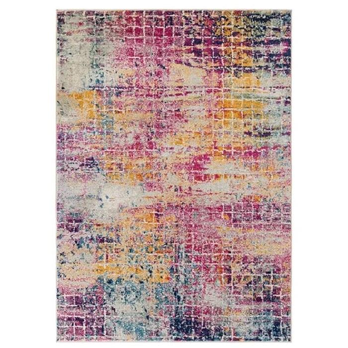 tapis de salon moderne tisse plat urban