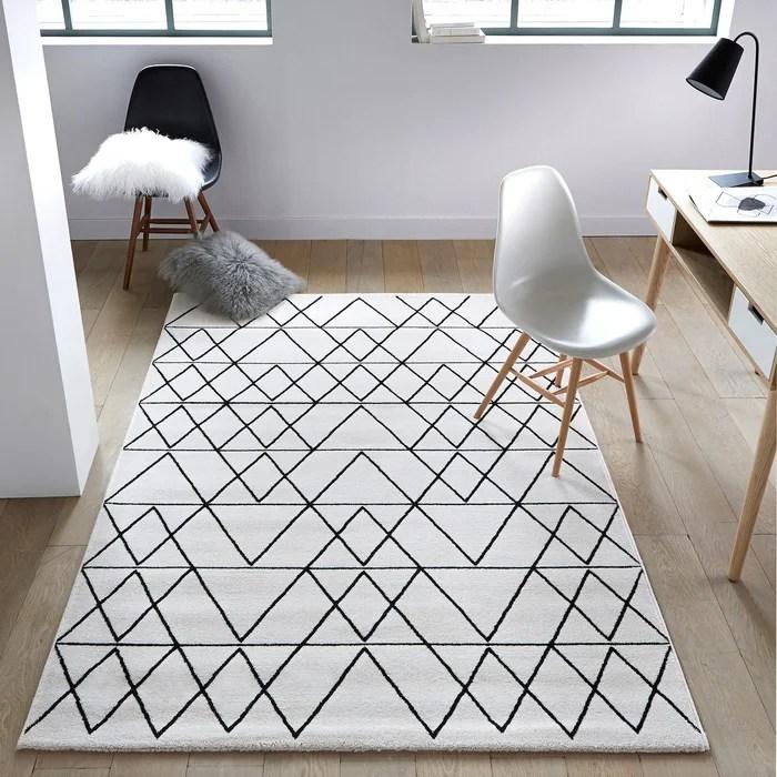 tapis de salon decoration la redoute