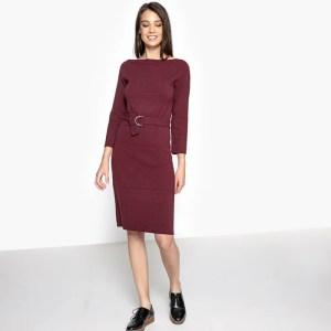 Imagen de Vestido de punto tricot entallado R essentiel