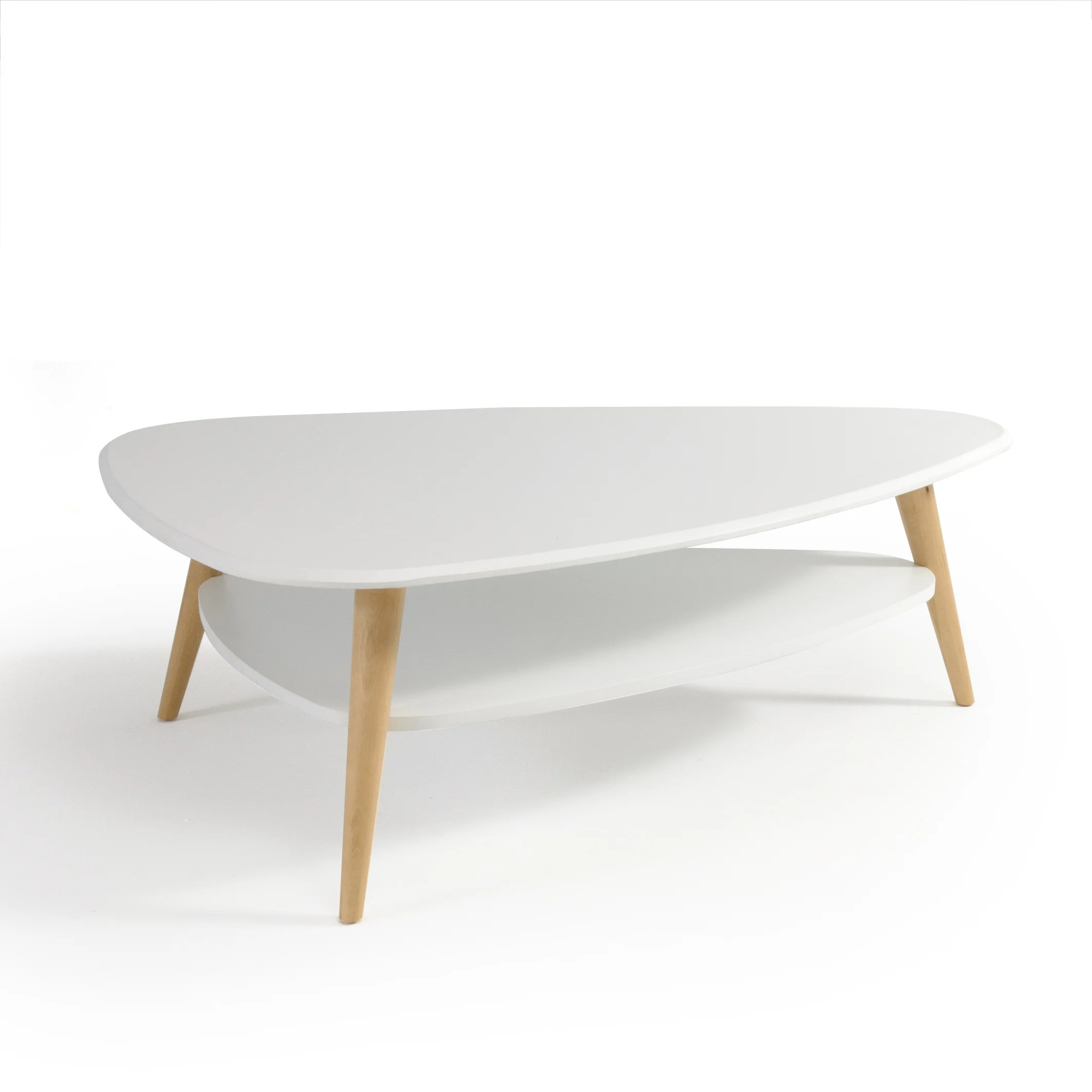 jimi vintage two tier large coffee table