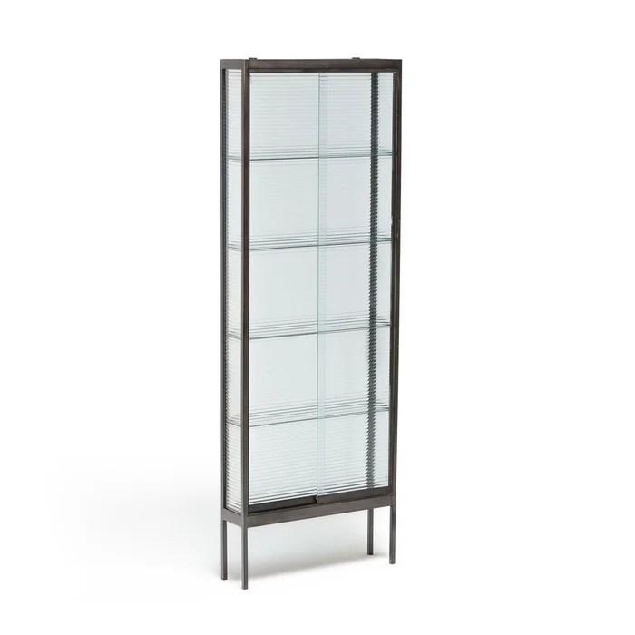 vitrine metal et verre mambo