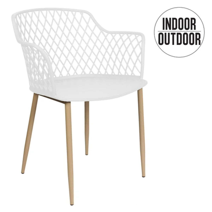 fauteuil pour table de jardin design malaga