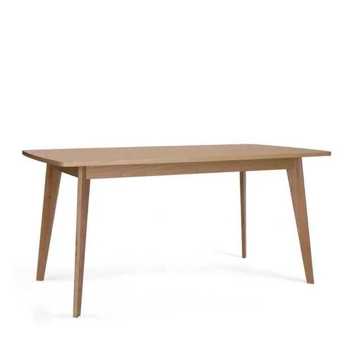 table a manger extensible 160 200 cm bois kensal