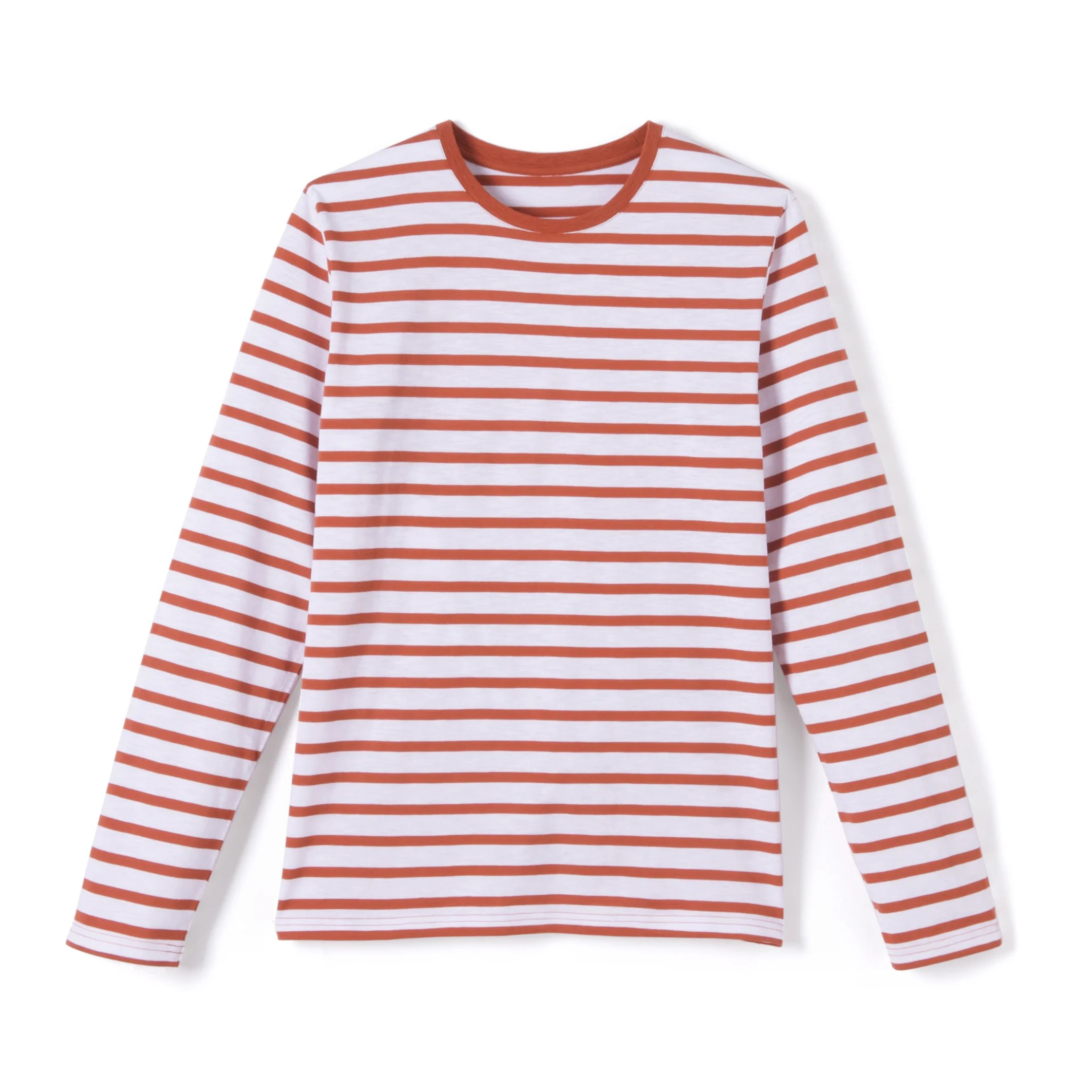 Image Striped Long-Sleeved Crew Neck T-Shirt R essentiel