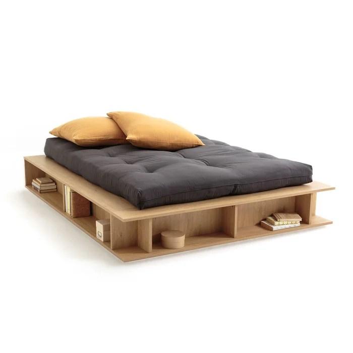 lit avec rangements sommier semi relevable presto