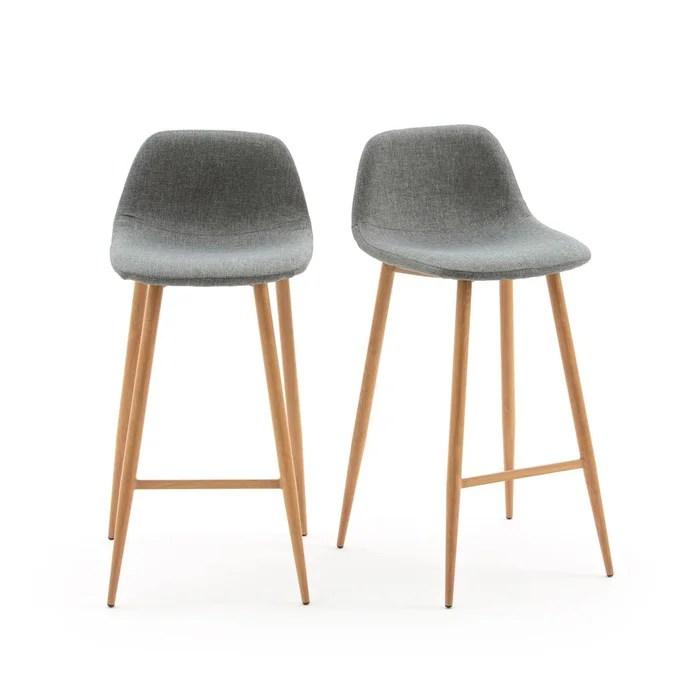 lot de 2 chaises de bar nordie