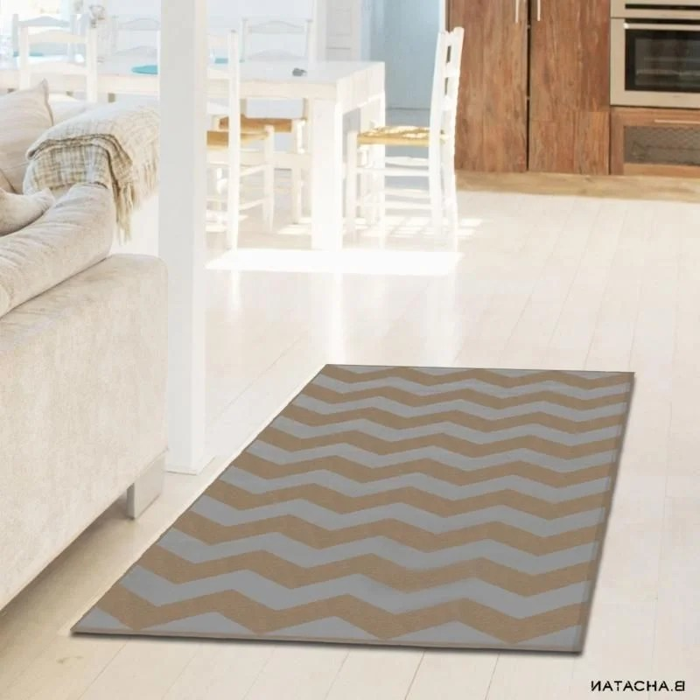 tapis de salon scandinave oslo fuchsia
