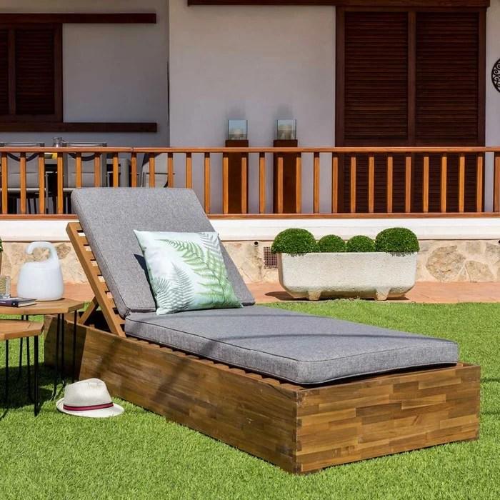 lit d exterieur en acacia