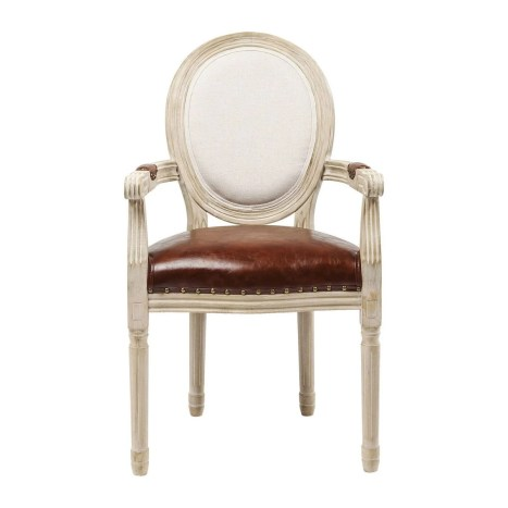 Chaise avec accoudoirs Louis Artistico Kare Design KARE DESIGN