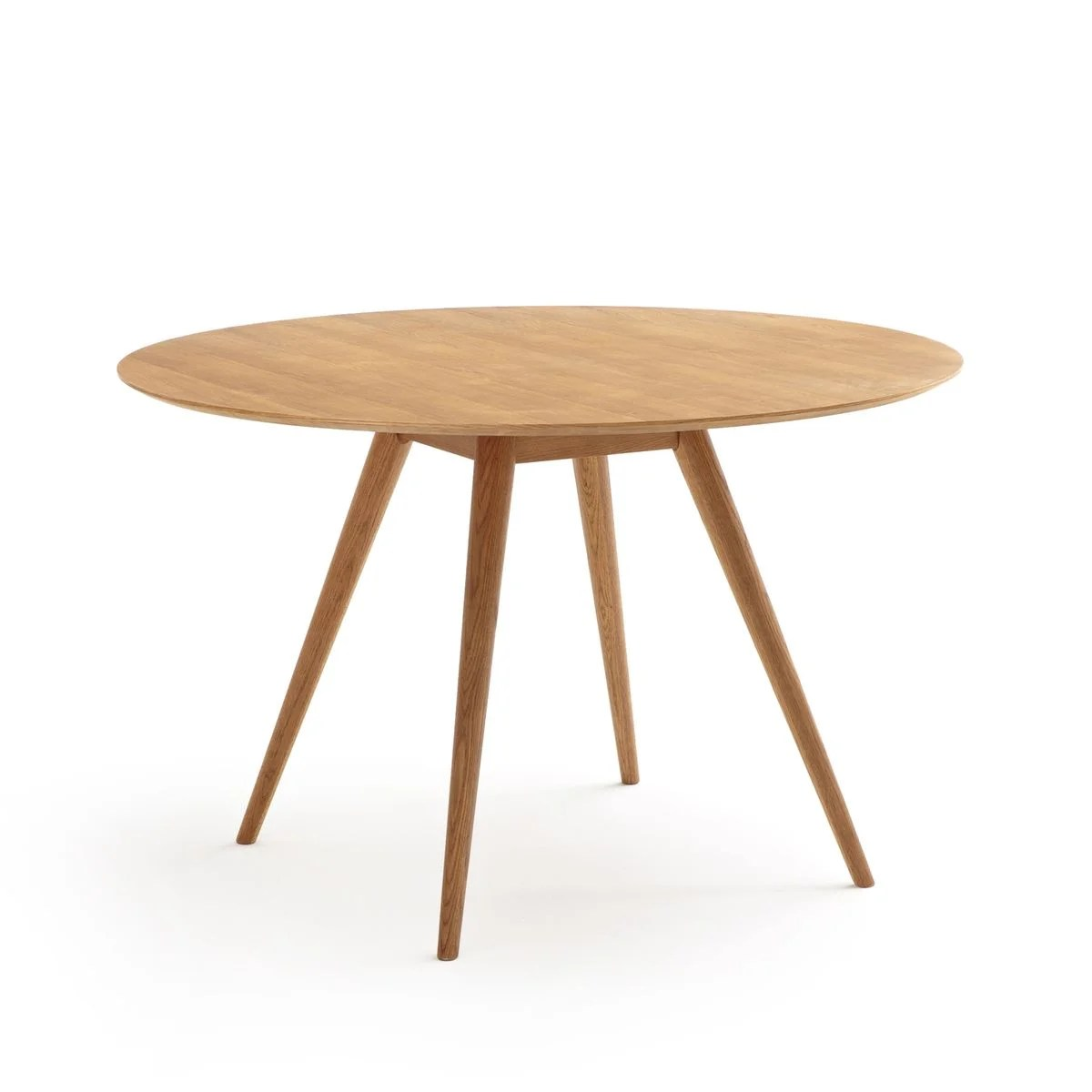 table ronde a manger 4 a 6 couverts quilda