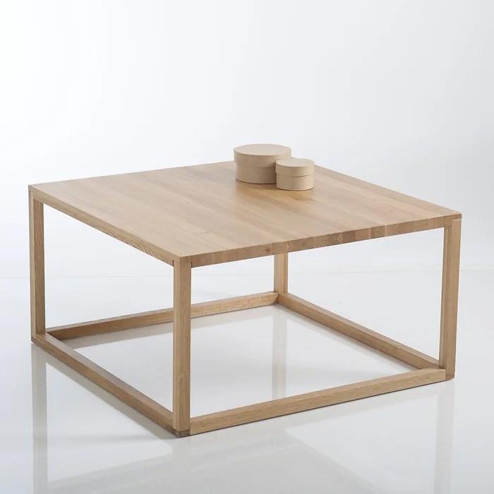 crueso scandi style cube coffee table in solid oak