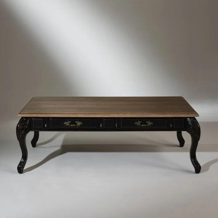 table basse chene marianne