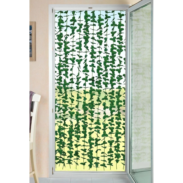rideau de porte en plante verte liane