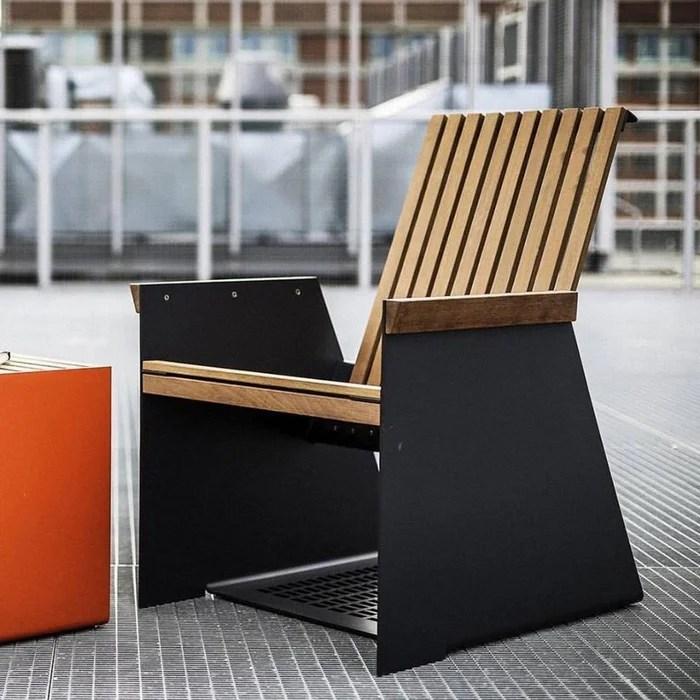 petit fauteuil de jardin design egoe radium